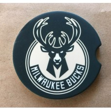 Milwaukee Bucks Car Coaster