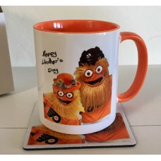 Gritty Mom Mother's Day - Mug and Coaster Set