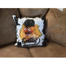 GRITTY SEQUIN pillow