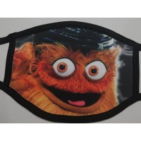 GRITTY PHILADELPHIA FLYERS COLLAGE Reusable Washable soft poly/cotton face mask cover