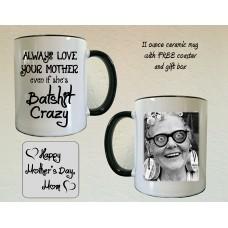 Always love your Mother mug and coaster set