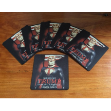 Super Trump Donald J Trump as Superman  COASTER set