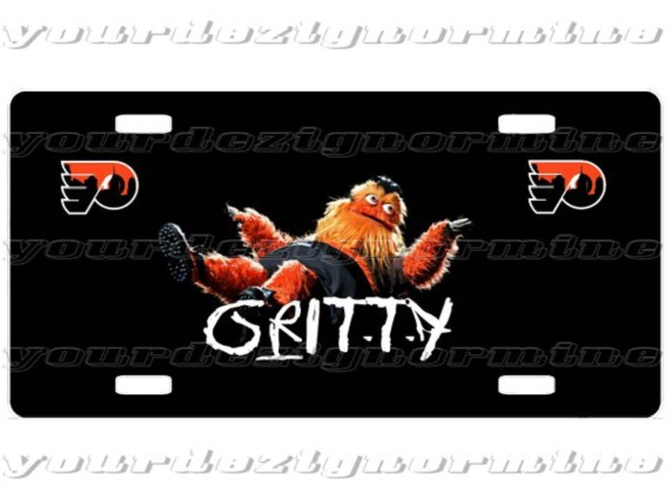GRITTY vehicle License Plate