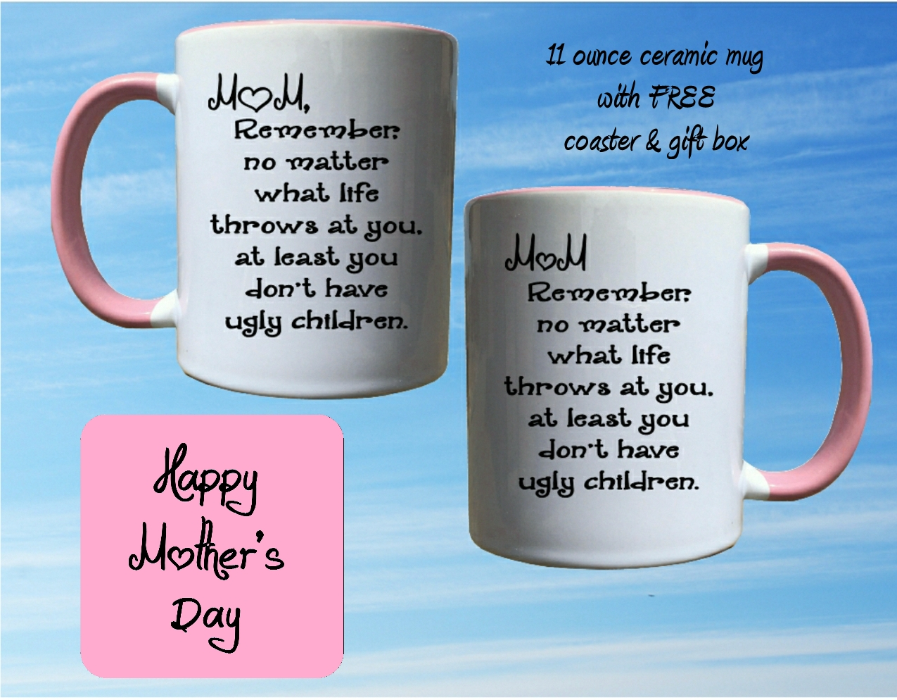 Mother's Day mug - Ugly Children